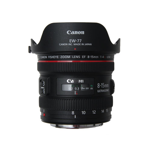 Canon EF 8-15mm f4.0