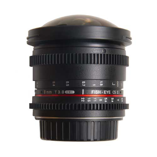 Walimex 8mm f3.8 Fish-Eye CSII